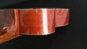 Australian red cedar with Wenge binding and French polish finish